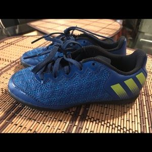 Toddler boy Adidas soccer shoes size 11.5